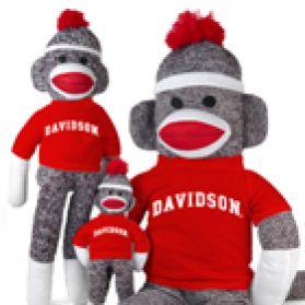 Davidson College Sock Monkey