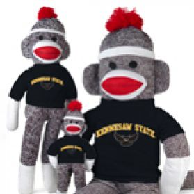 Kennesaw State Sock Monkey