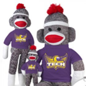 Tennessee Tech Sock Monkey
