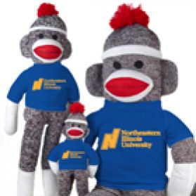 Northeastern Illnois Sock Monkey