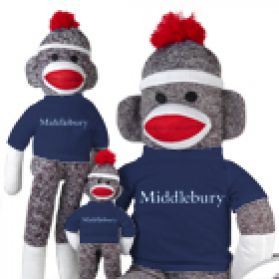 Middlebury Sock Monkey