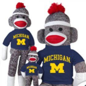 Michigan Sock Monkey