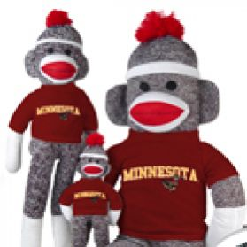 Minnesota Sock Monkey
