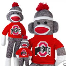 Ohio State Sock Monkey