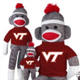 Virginia Tech Sock Monkey