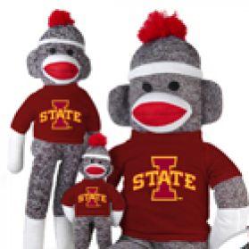Iowa State Sock Monkey