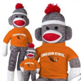 Oregon State Sock Monkey
