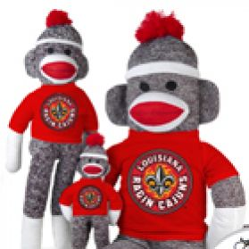 Louisiana (Laf)  Sock Monkey