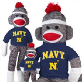 Naval Academy Sock Monkey
