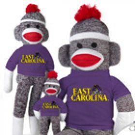 East Carolina Sock Monkey