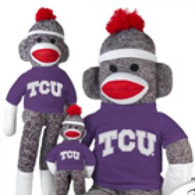 TCU Sock Monkey