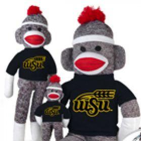 Wichita State Sock Monkey