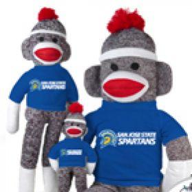 San Jose State Sock Monkey
