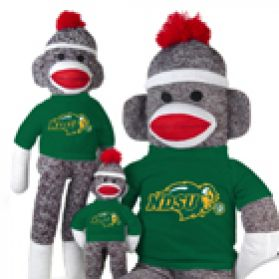 N. Dakota State Sock Monkey