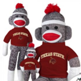 Texas State Sock Monkey