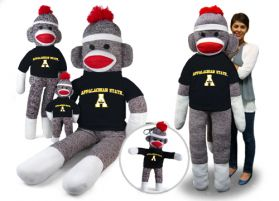 Appalachian State Sock Monkey