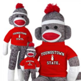 Youngstown State Sock Monkey