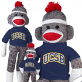 UC Santa Barbara Sock Monkey