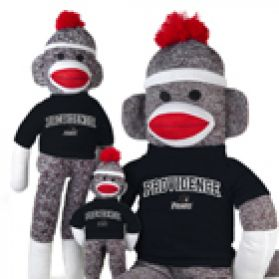 Providence College Sock Monkey