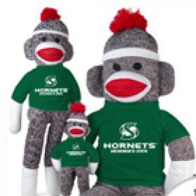 Sacramento State Sock Monkey
