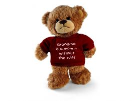 Grandma Without Rules Bear 6in