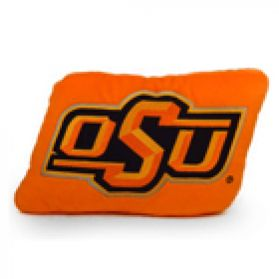Oklahoma State Logo Pillow 11in