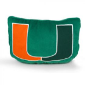 Miami Logo Pillow 11in