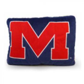 Mississippi Logo Pillow