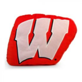 Wisconsin Logo Pillow 11in