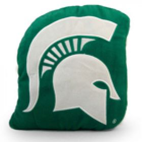 Michigan State Logo Pillow 11in