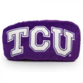 TCU Logo Pillow 11in