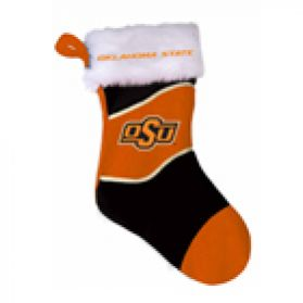 Oklahoma State Holiday Stocking 16in