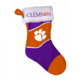 Clemson Holiday Stocking