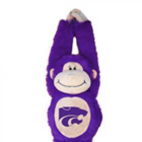 Kansas State Velcro Monkey 20in