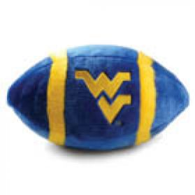 West Virginia Plush Football 11in