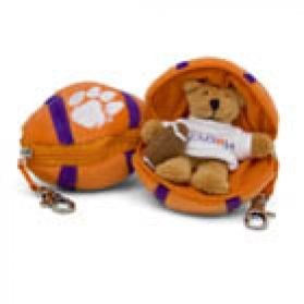 Clemson Football Keychain