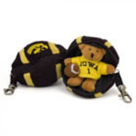 Iowa Football Keychain
