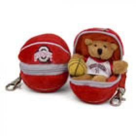 Ohio State Basketball Keychain