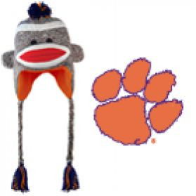Clemson Sock Monkey - Hat