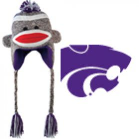 Kansas State Sock Monkey - Hat