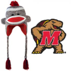 Maryland Sock Monkey Hat