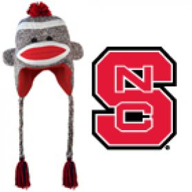 NC State Sock Monkey - Hat