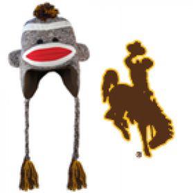 Wyoming Sock Monkey Hat