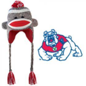 Fresno State Sock Monkey - Hat