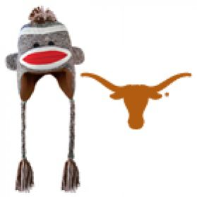 Texas Sock Monkey Hat