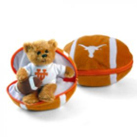 Texas Zipper Football 8in