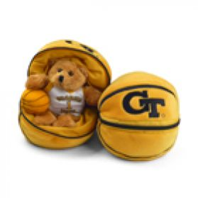 Georgia Tech Zipper Basketball 8in