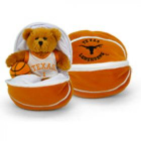 Texas Zipper Basketball 8in