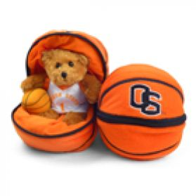 Oregon State Zipper Basketball 8in