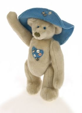 Jointed Button Bear
